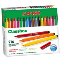 Economy pack coloring felt pen