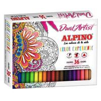 Set completo para crear tu bullet journal con rotuladores dual artist Alpino