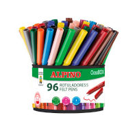 Economy pack bote 96 rotuladores de colores (12x8 uds)