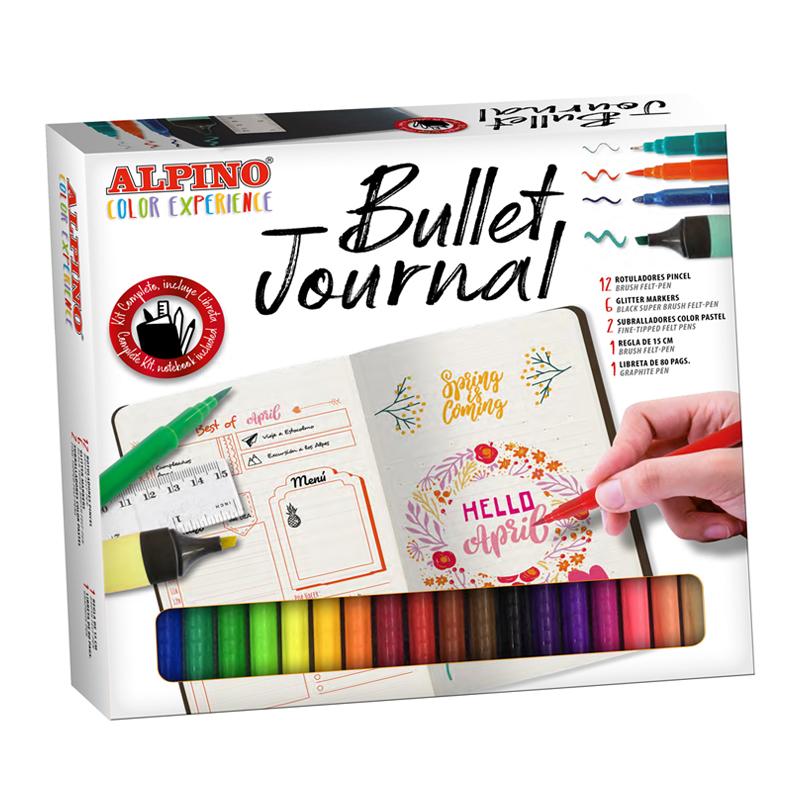 Set Bullet Journal con rotuladores de colores | Alpino® Oficial