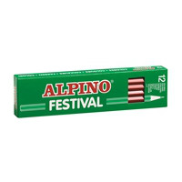 Box 12 coloring pencils Alpino Festival