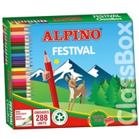 Economy pack coloring pencils Alpino Festival 288 units