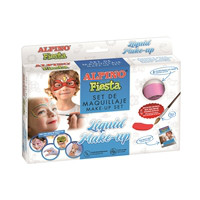 Alpino Set Maquillaje Liquido (8 coloresx10g + pincel + folleto)