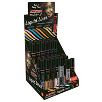 Alpino Face Paint Liquid Liner Display  24 units + 2 free 6 grs.