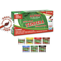 Tempera Alpino 7 x 40ml.