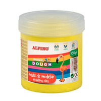 Pasta de modelar Bote Magic Dough 160 grs, amarillo