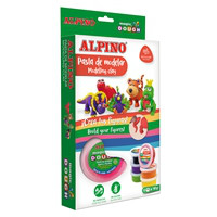 Pasta de modelar Alpino Magic Dough Funny Animals