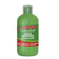 Bottle acryilic paint for school 250 ml. light green