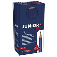 Economy pack lápices grafito Junior Tri  144 unidades